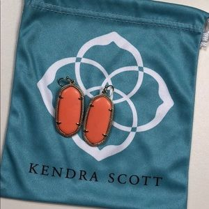 Kendra Scott Elle drop earrings *GREAT CONDITION*
